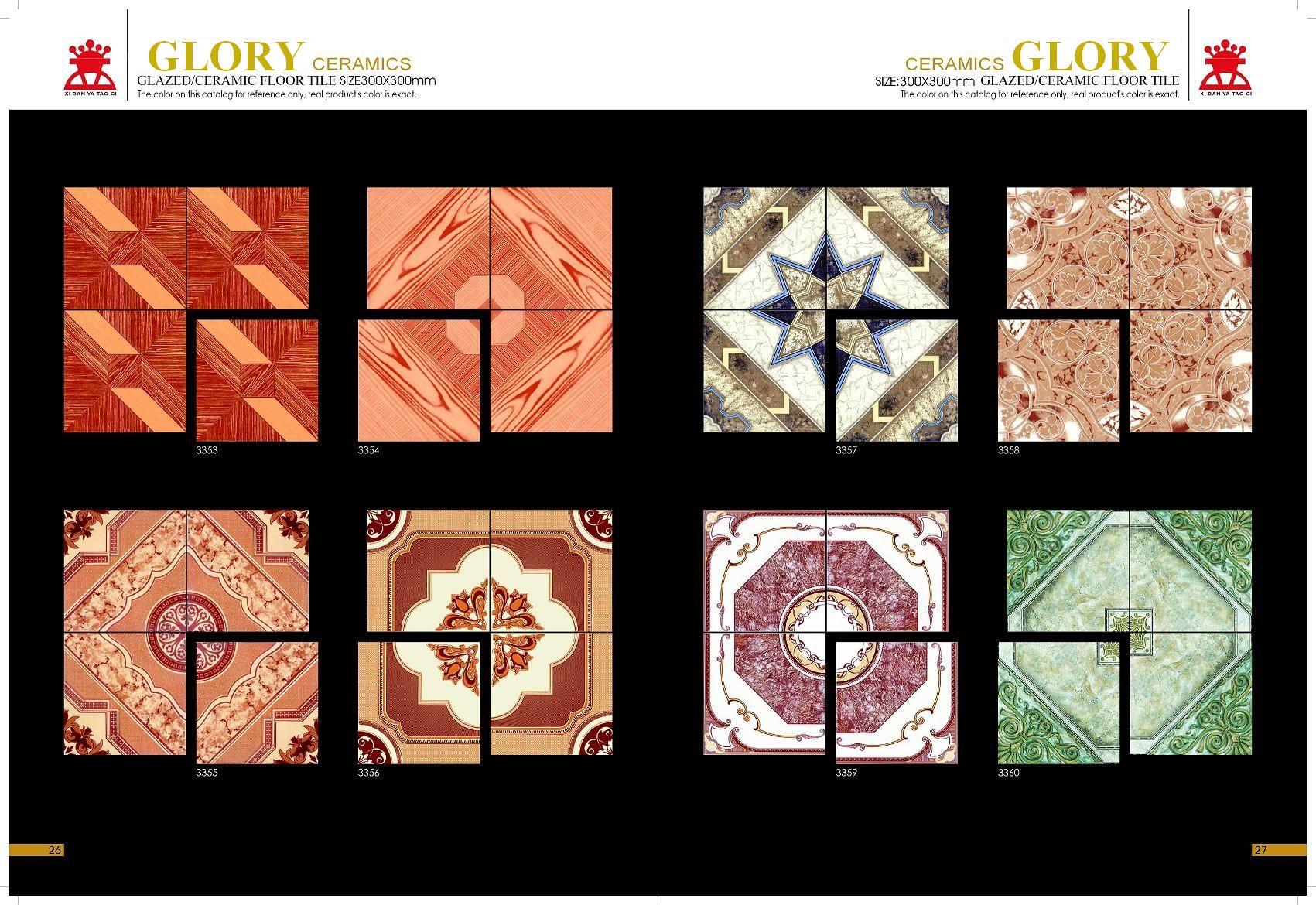 What is glazed ceramic tile